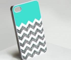Three Colors Monogram - Iphone case for Iphone 4 case, Iphone 4s case, Iphone 5 case hard case