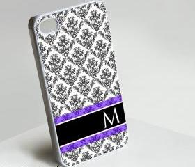 Font M Monogram - Iphone case for Iphone 4 case, Iphone 4s case, Iphone 5 case hard case