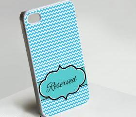 Reserved Monogram - Iphone case for Iphone 4 case, Iphone 4s case, Iphone 5 case hard case