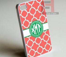 Xmt Monogram - Iphone case for Iphone 4 case, Iphone 4s case, Iphone 5 case hard case