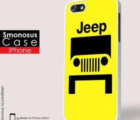 American Jeep custom background - Iphone case for Iphone 4 case, Iphone 4s case, Iphone 5 case hard case