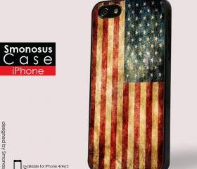 Us flag tumblr - Iphone case for Iphone 4 case, Iphone 4s case, Iphone 5 case hard case