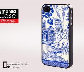 Blue bird - Iphone case for Iphone 4 case, Iphone 4s case, Iphone 5 case hard case