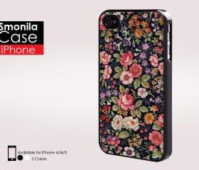 Beuatiful flower tumblr - Iphone case for Iphone 4 case, Iphone 4s case, Iphone 5 case hard case