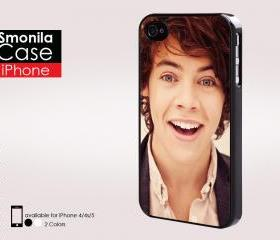 Hary styles one direction - Iphone case for Iphone 4 case, Iphone 4s case, Iphone 5 case hard case