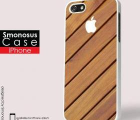 Design Wood eye candy iphone logo - Iphone case for Iphone 4 case, Iphone 4s case, Iphone 5 case hard case
